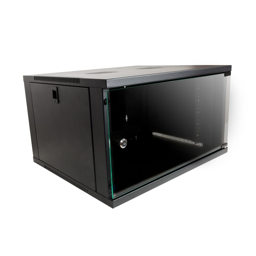 "6U 19"" Enclosed Desk Top Rack"