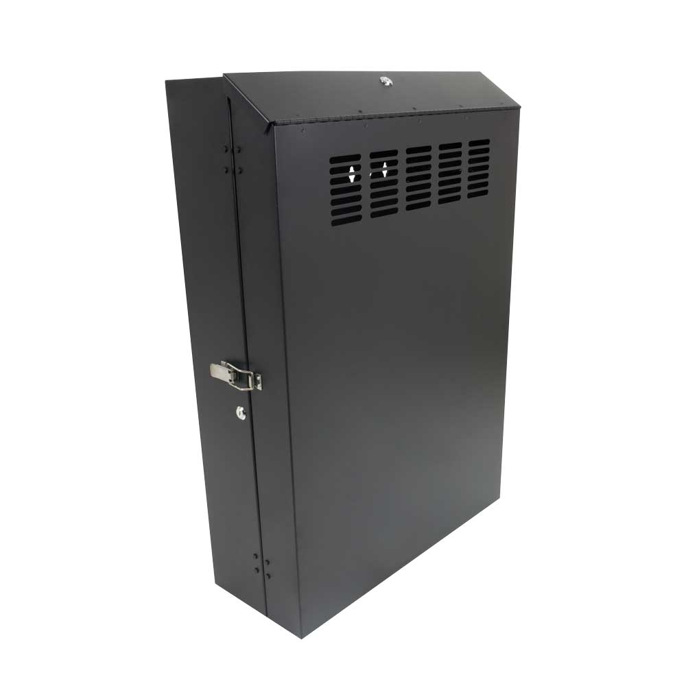 "Secure 5U Vertical Wall Mount Rack, 30"" Deep"