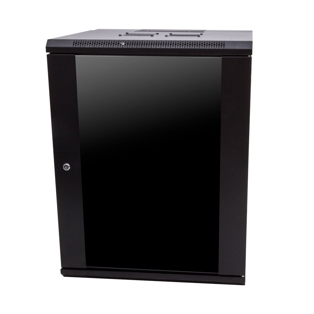 15U x 600mm x 600mm Wall Mount Cabinet-Single Section