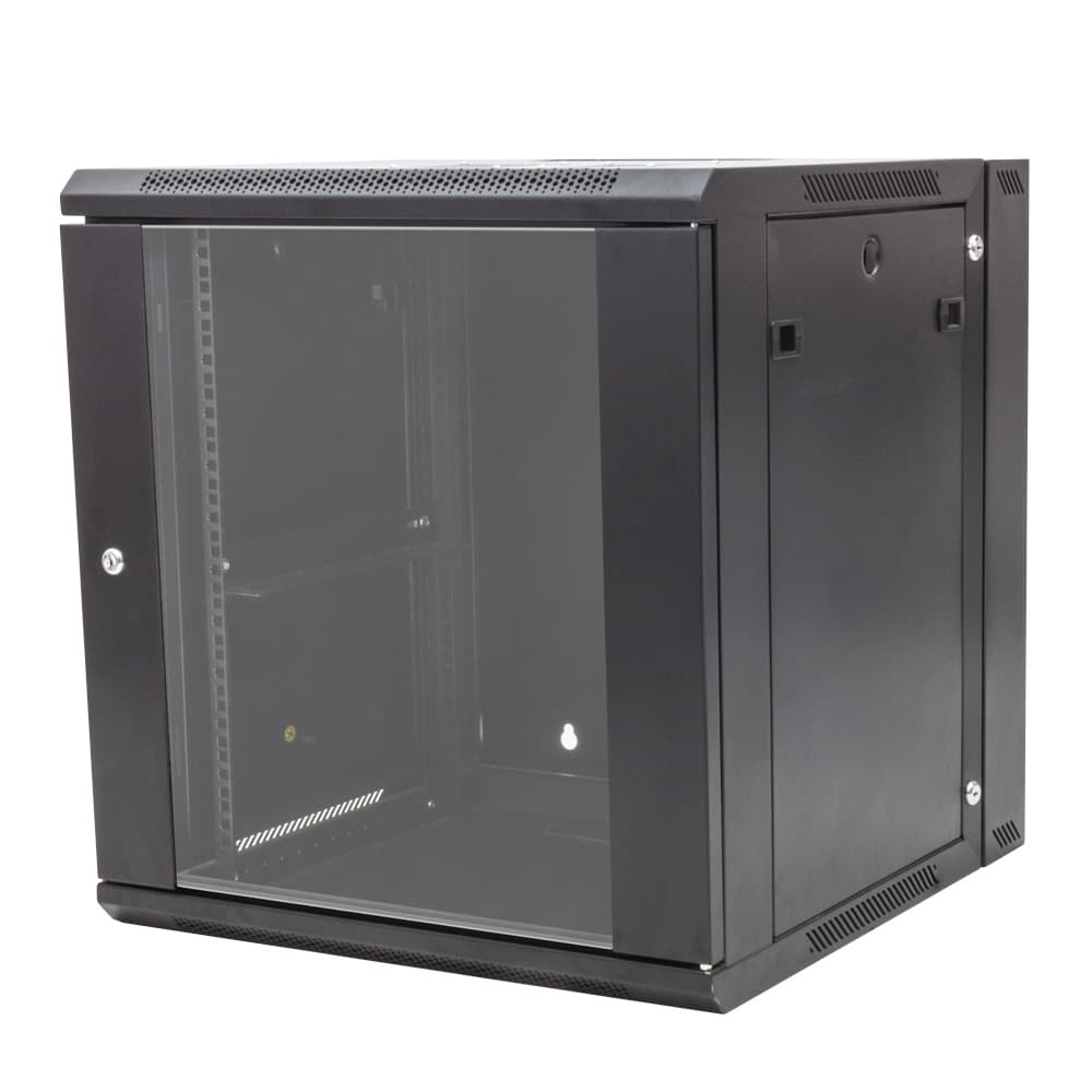 12u Double Section Wall Mount Av Rack Openframeracks